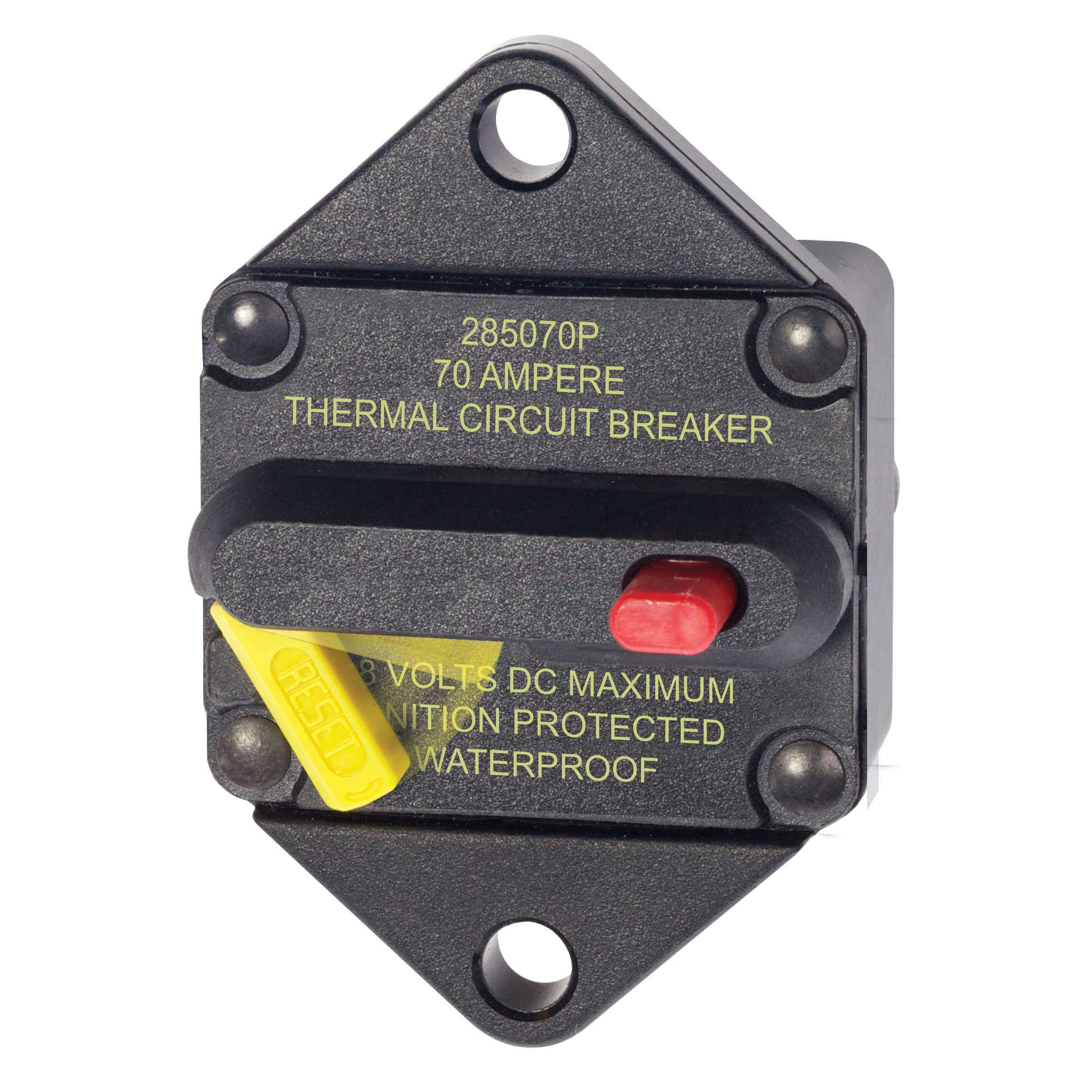 Blue Sea Systems Custom Made Circuit Breaker Panel Manual Guide