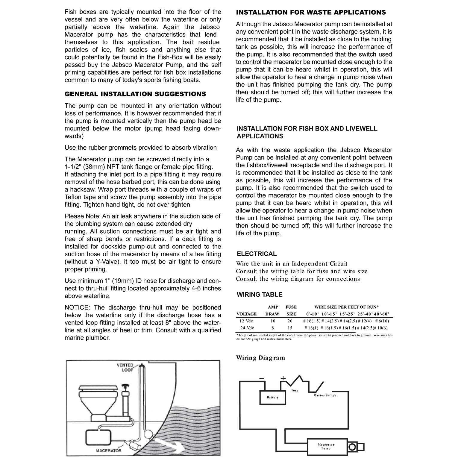 jabsco 18590 2092 macerator waste pump 12v dc marine self priming 1 rh fredwarner1 net Marine Macerator Pumps Flojet Macerator Pump Manual
