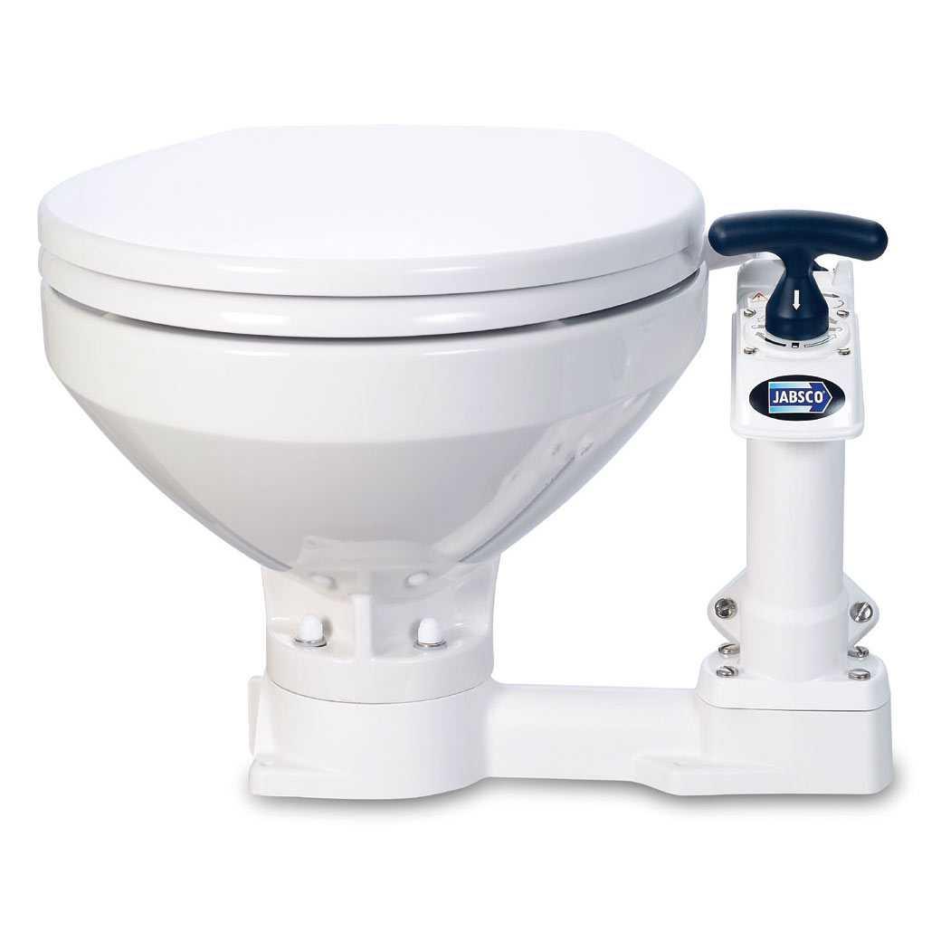 Jabsco 29090 5000 Marine Compact Toilet Boat Head Manual