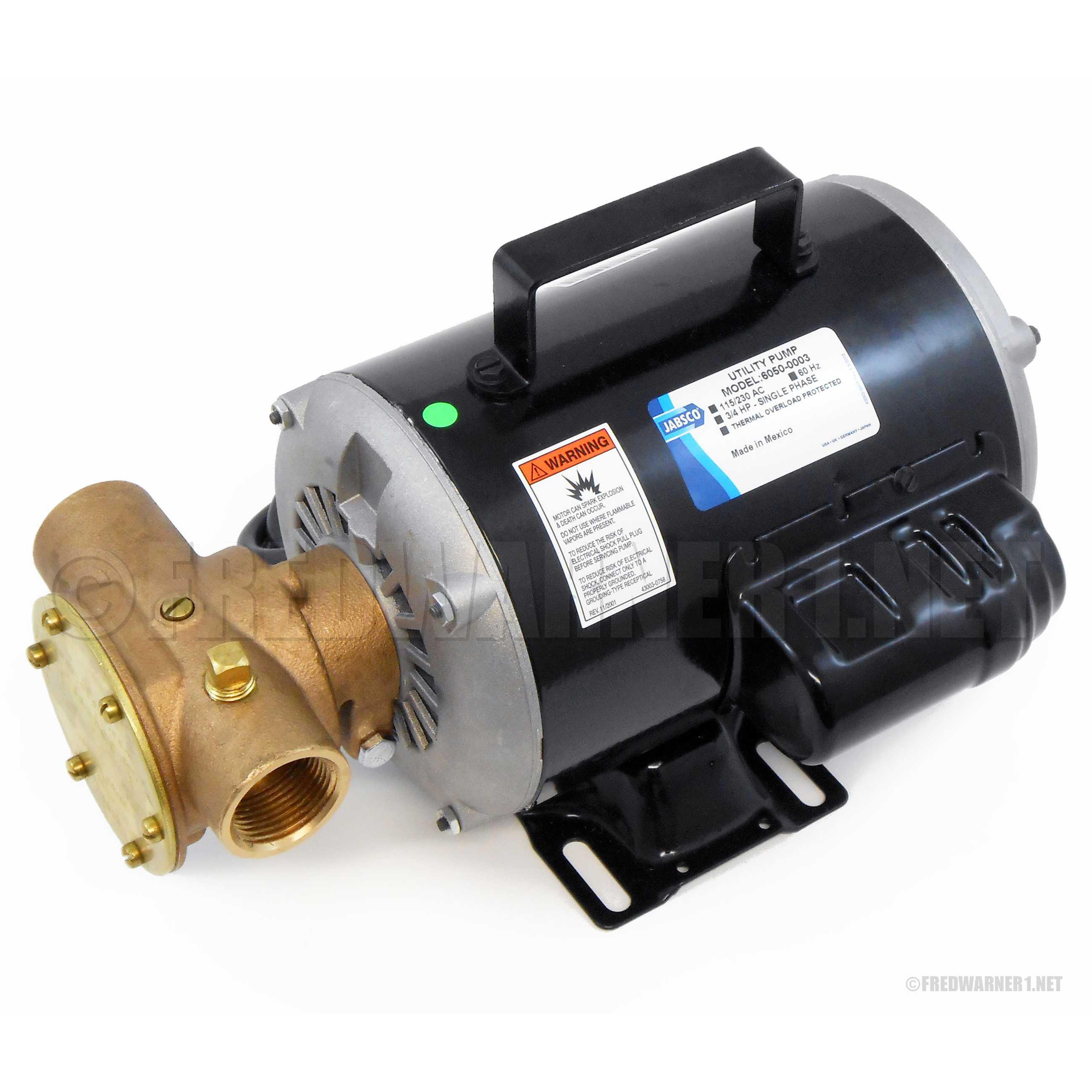 Jabsco 6050 0003 self priming utility pump 23 gpm 115v ac 1 npt us jabsco publicscrutiny Image collections