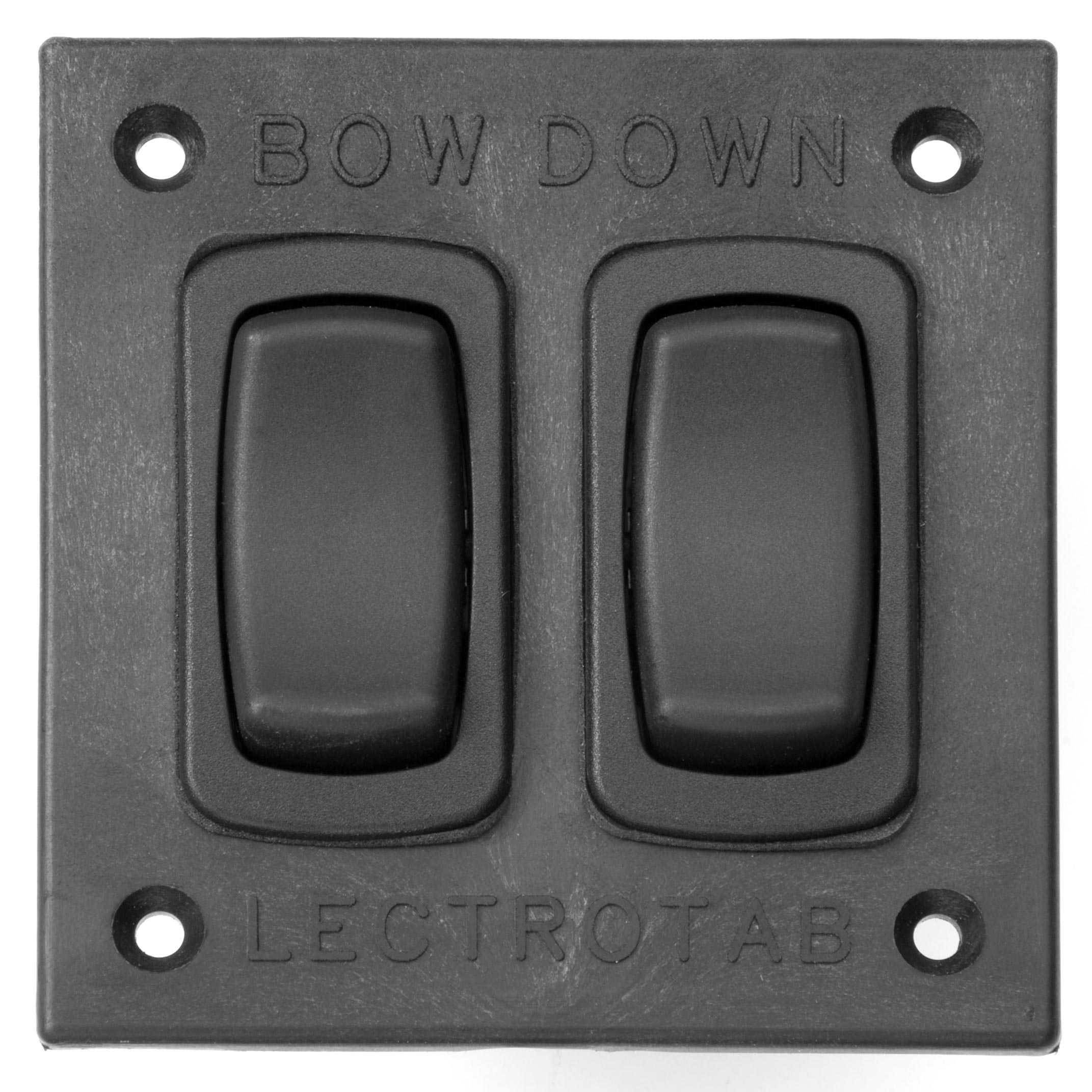 Lectrotab Rocker Switch Panel Control for Trim Tabs SAF-SC Black Marine Boat