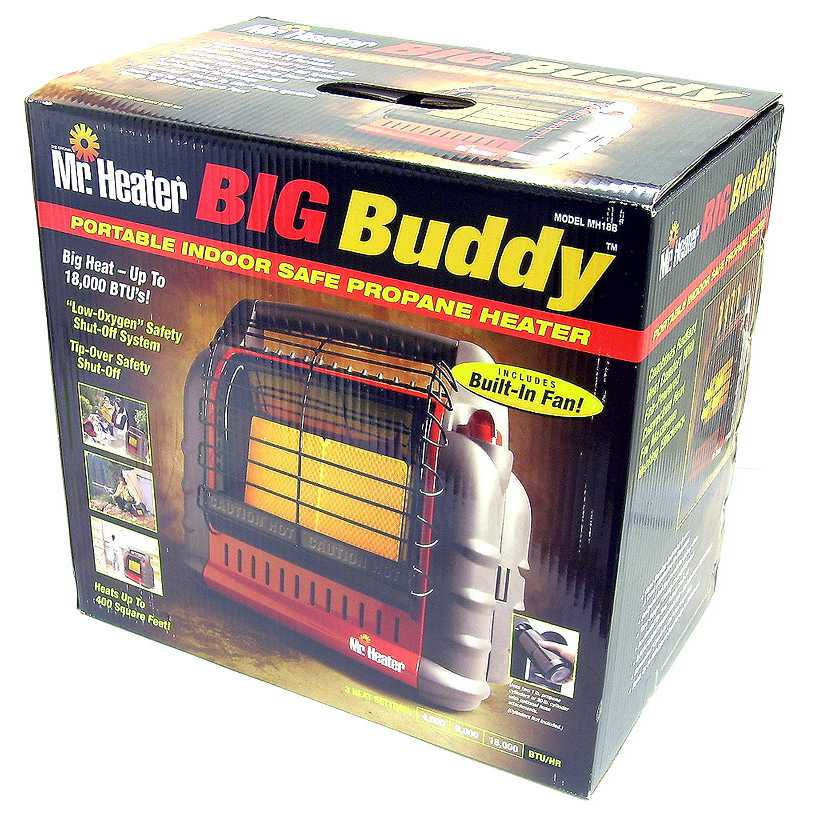 Big buddy heater propane tank hook up