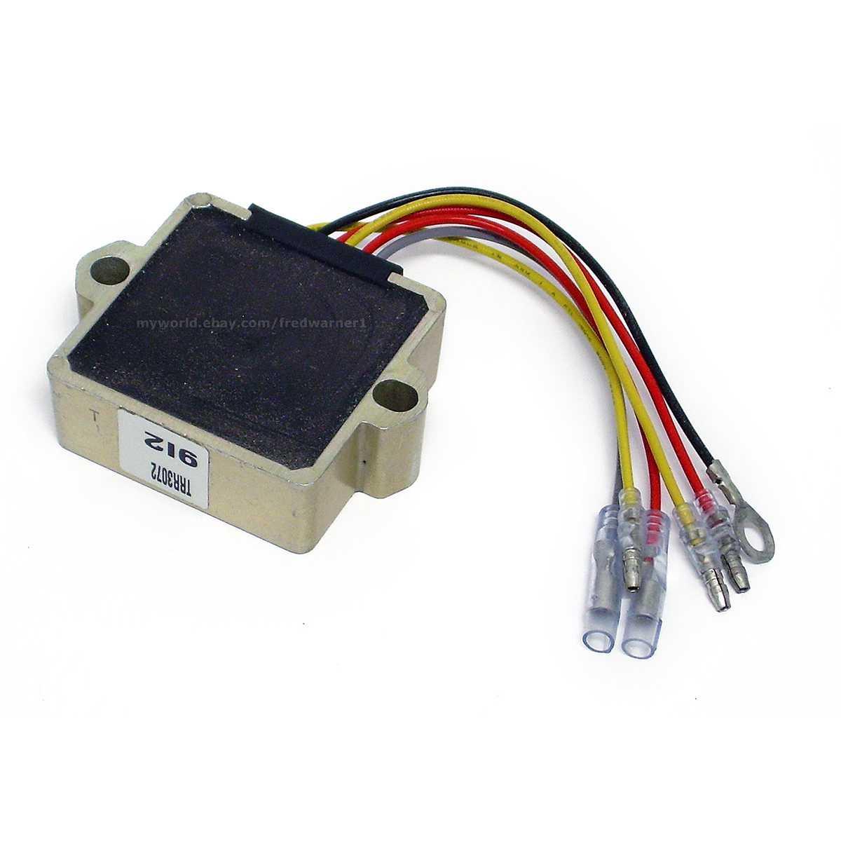 Sierra 18-5743 Mercury / Mariner Outboard Voltage Regulator 815279-3/5  883072T