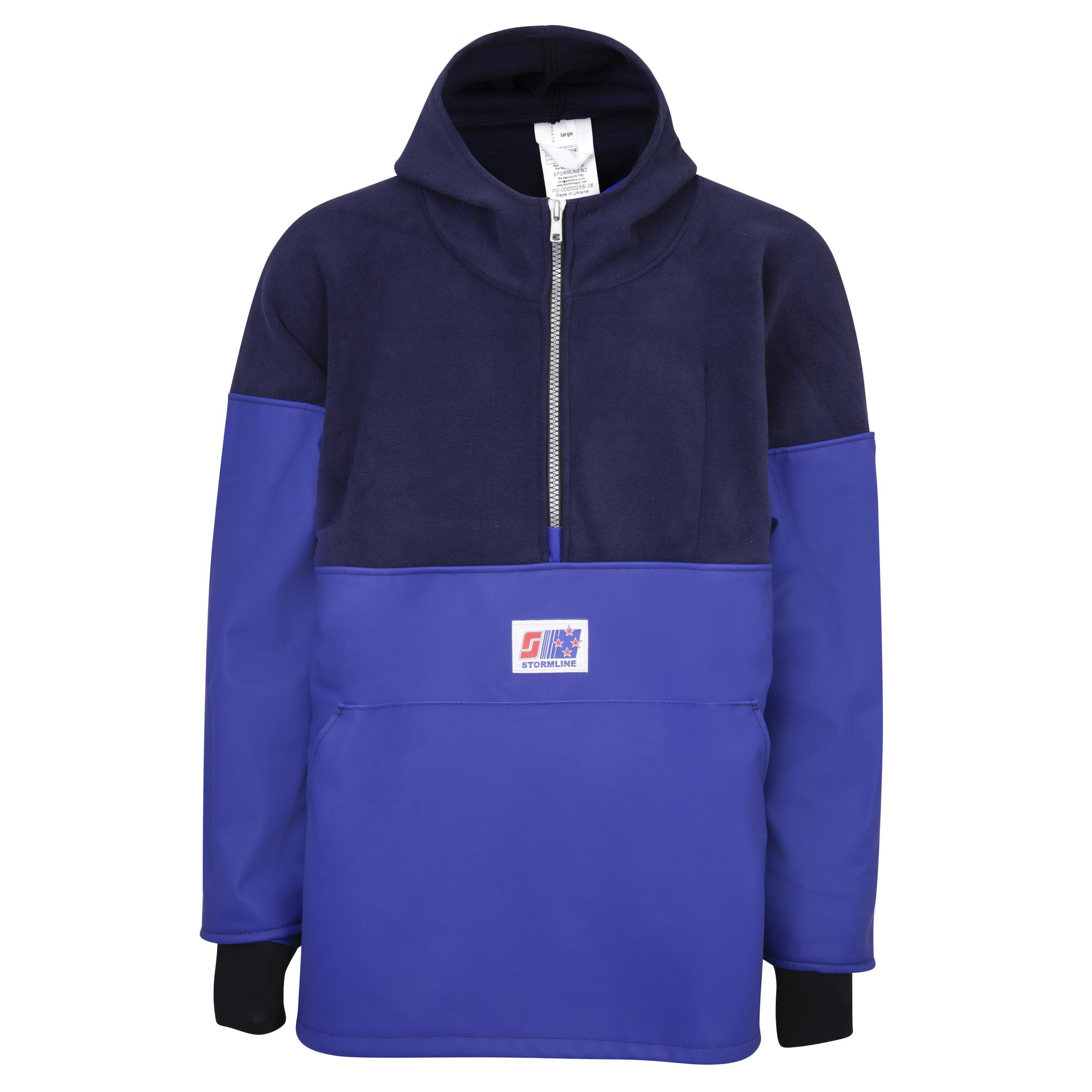 Blue Details about  /Stormline Atlantic 809 Fleece//PVC Pullover Jacket XXL XX-Large