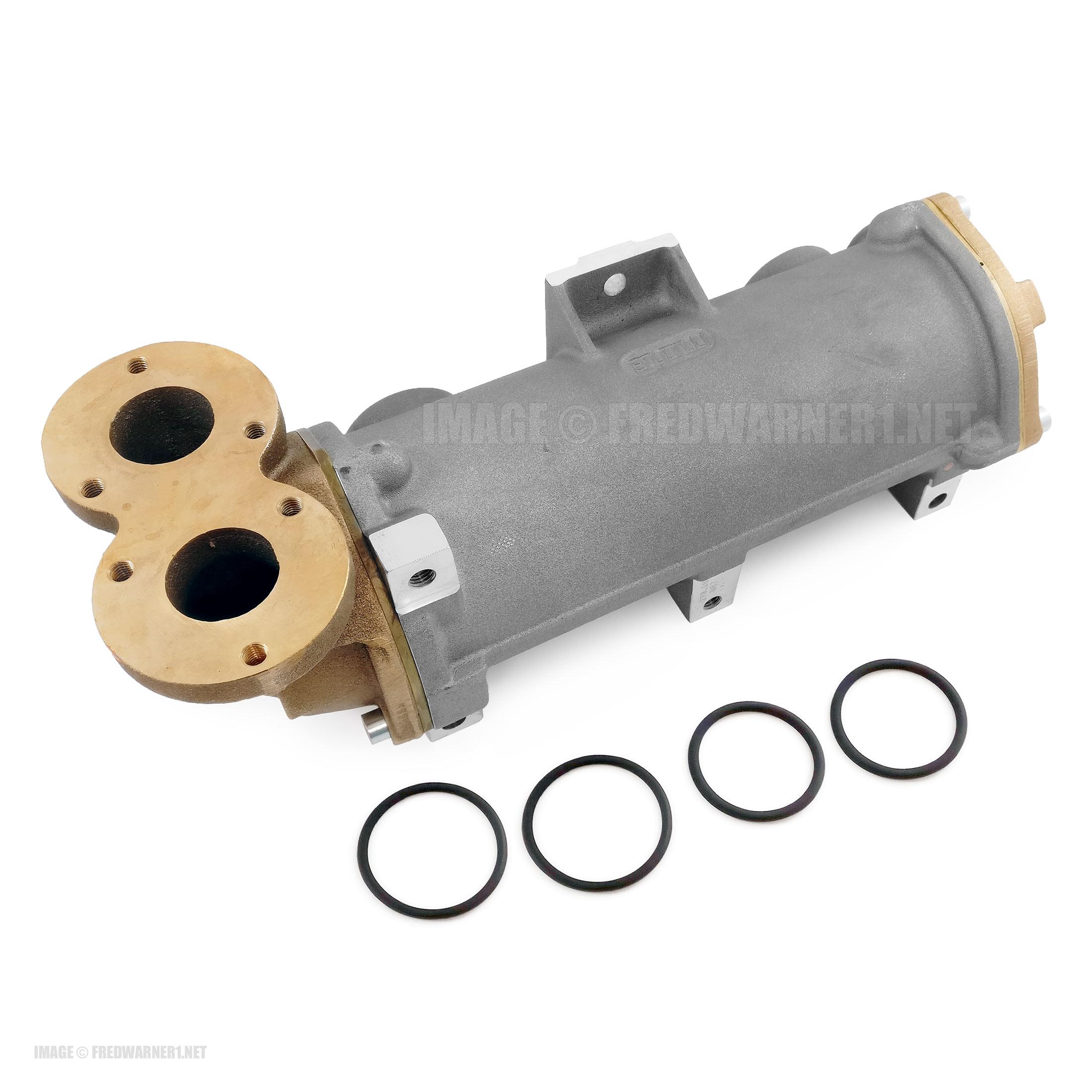 ZF 0501214976 Marine Transmission Oil Cooler 1950 2000 2050 2060 2070 2150