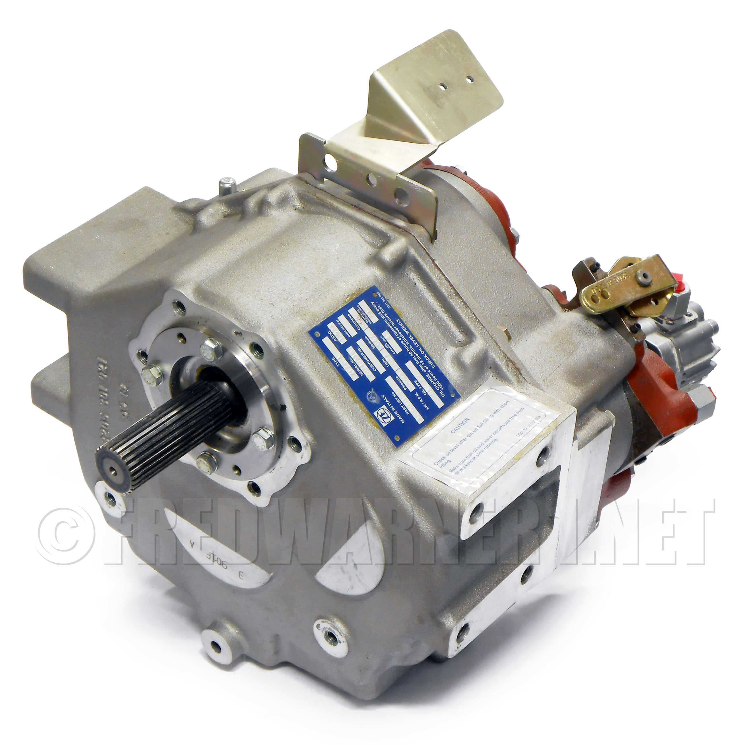 ZF 220A 2.5:1 Marine Boat Transmission Gearbox IRM 220A-1 3205001023