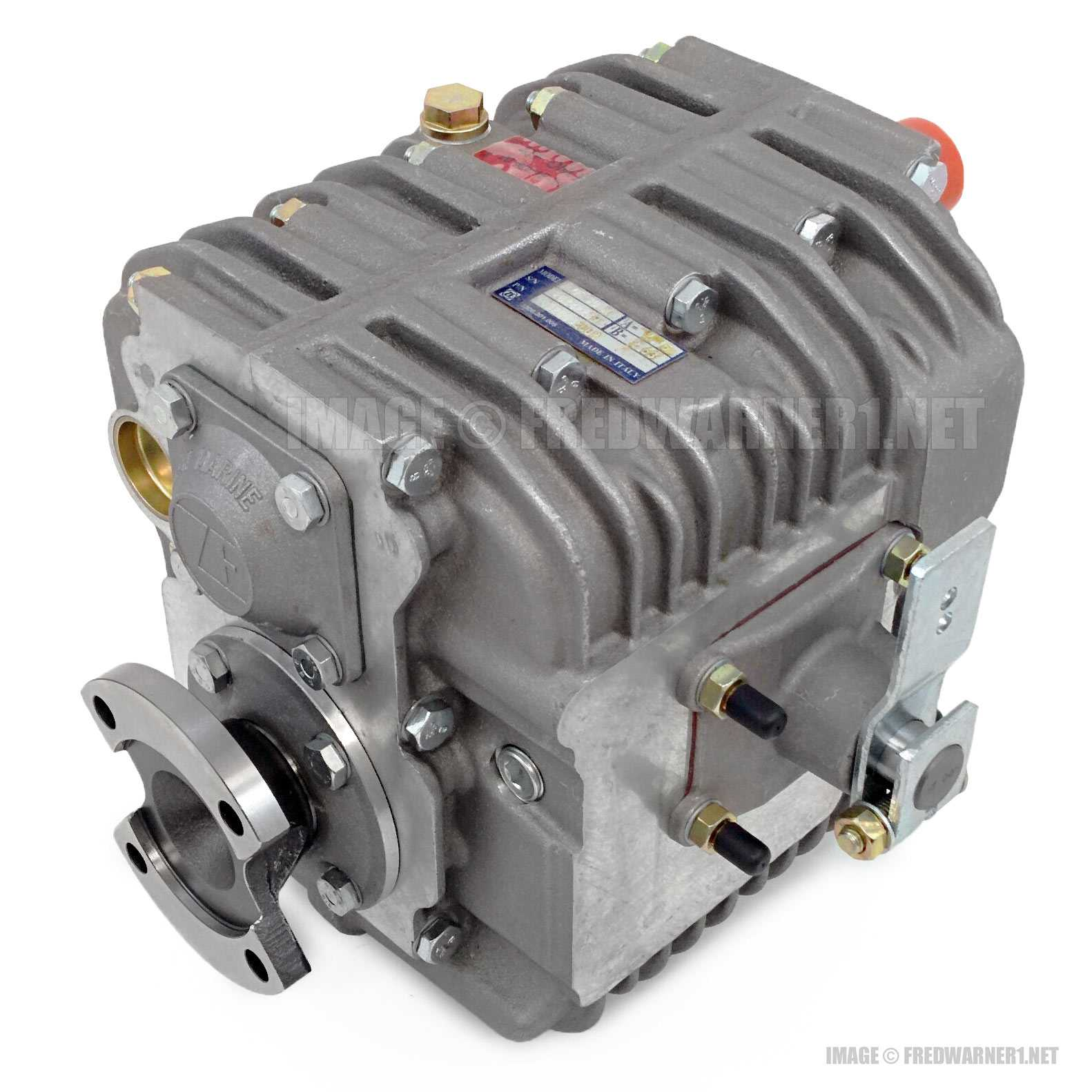 ZF 30M 2 7:1 Marine Boat Transmission Gearbox 3320002001 Hurth Mechanical