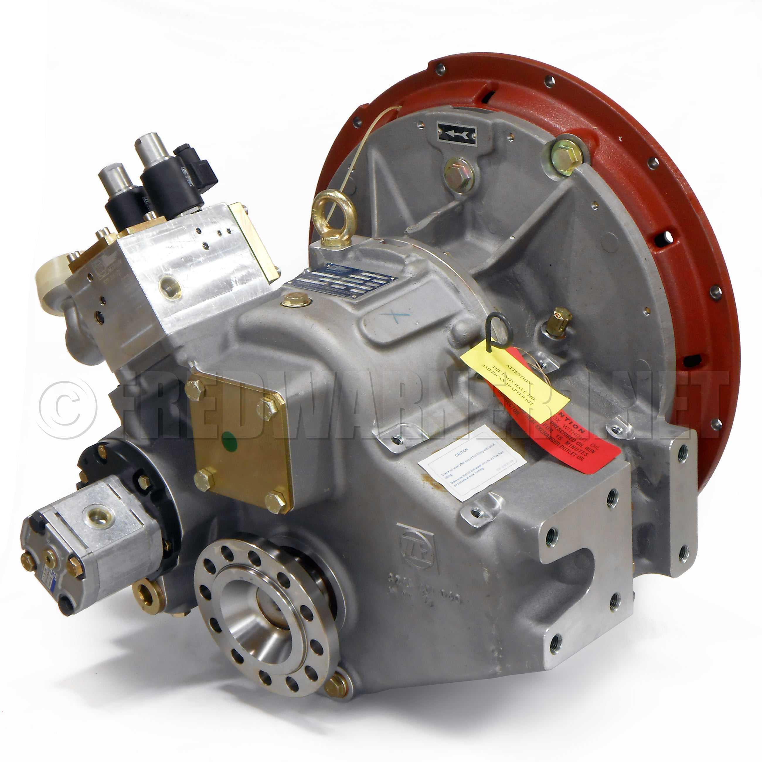 ZF 325-1A 1 733:1 Marine Boat Transmission 24V Down-Angle 3214001038 VKE  4011S